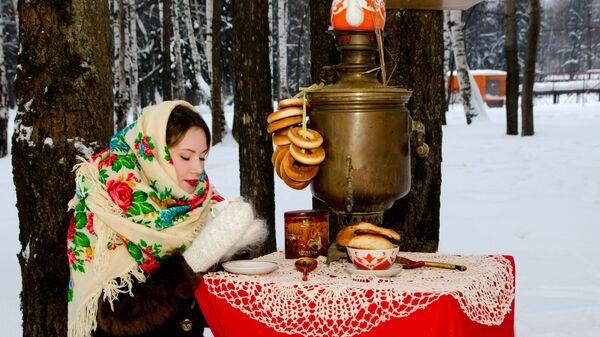 Herbata z samowara - Sputnik Polska