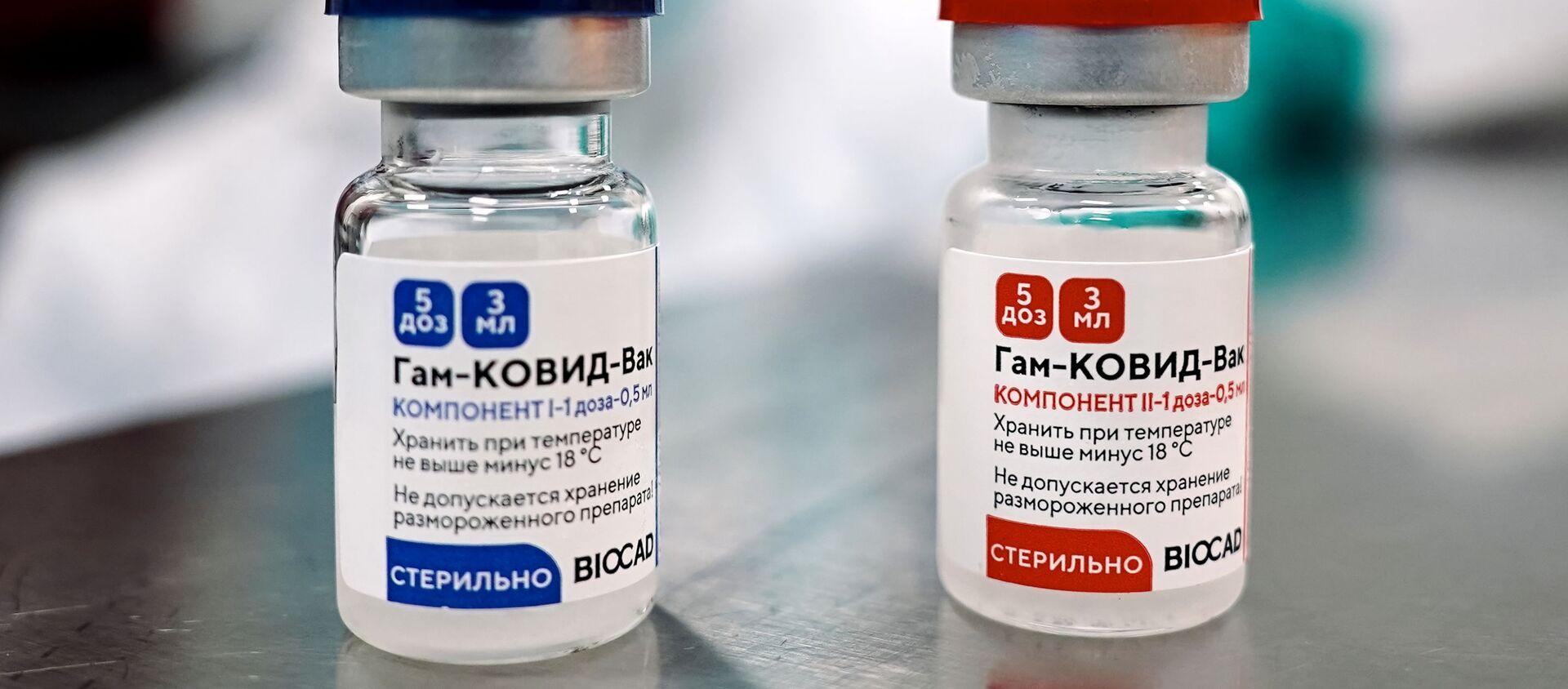 """Produkcja rosyjskiej szczepionki przeciwko COVID-19 """"Sputnik V"""" - Sputnik Polska, 1920, 02.02.2021"""