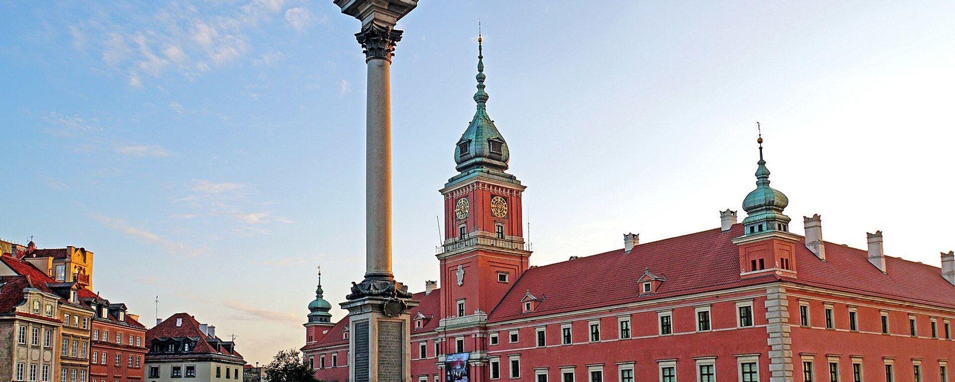 Zamek Królewski w Warszawie - Sputnik Polska, 1920, 04.08.2021