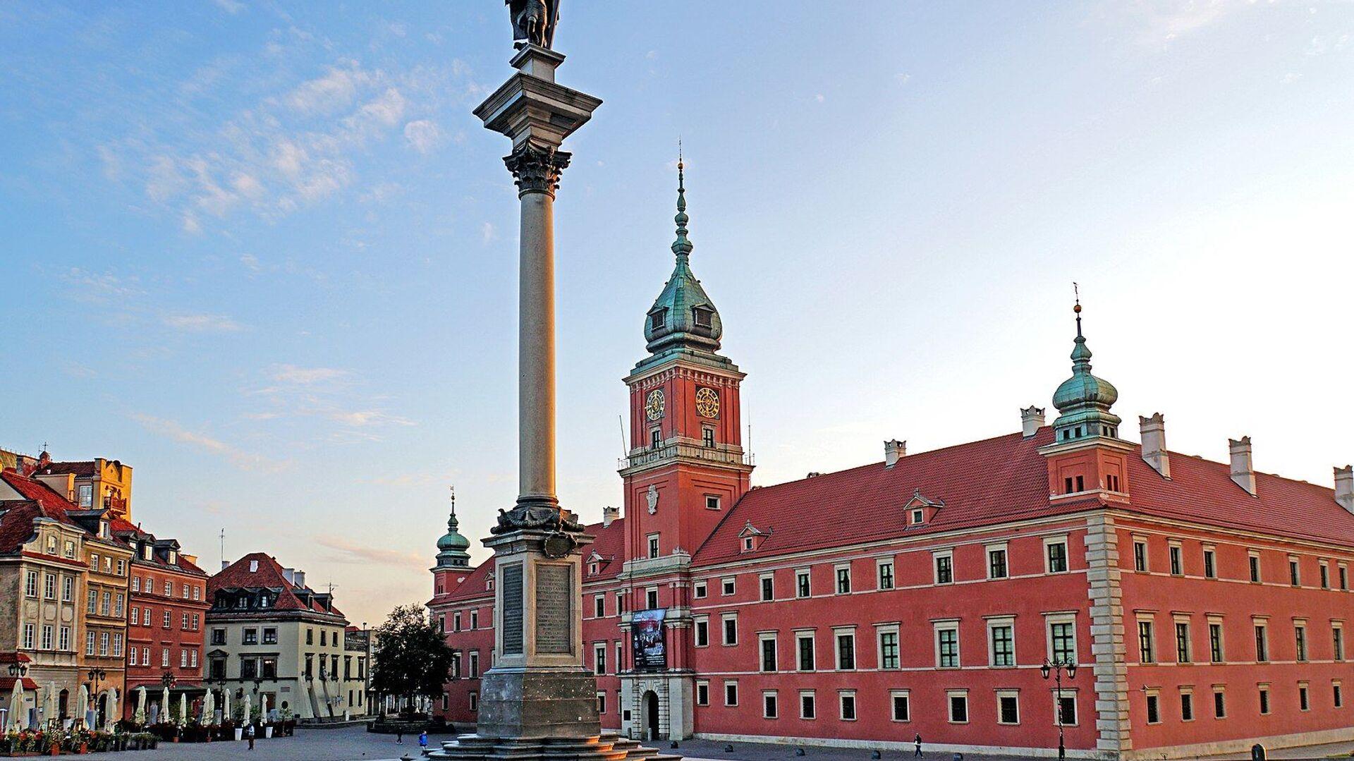 Zamek Królewski w Warszawie - Sputnik Polska, 1920, 08.10.2021