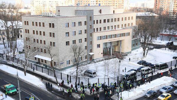 Budynek Rejonowego Sądu Babuszkińskiego - Sputnik Polska