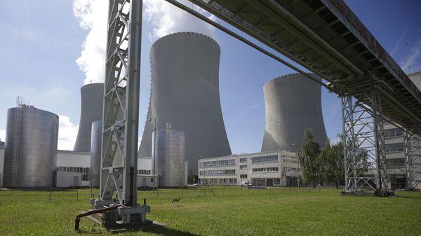 Elektrownia atomowa Temelin w Czechach - Sputnik Polska
