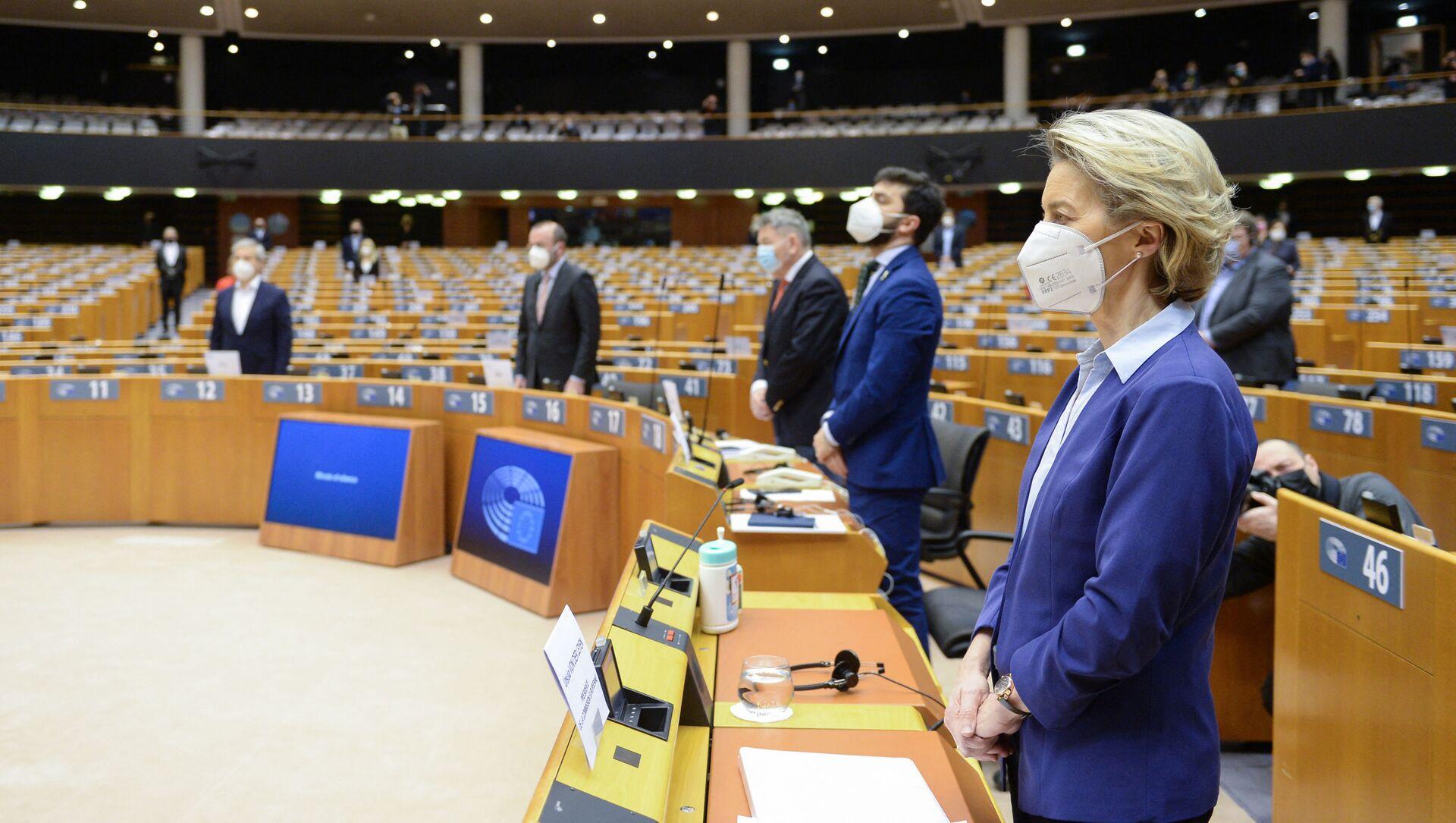 Parlament Europejski - Sputnik Polska, 1920, 10.02.2021