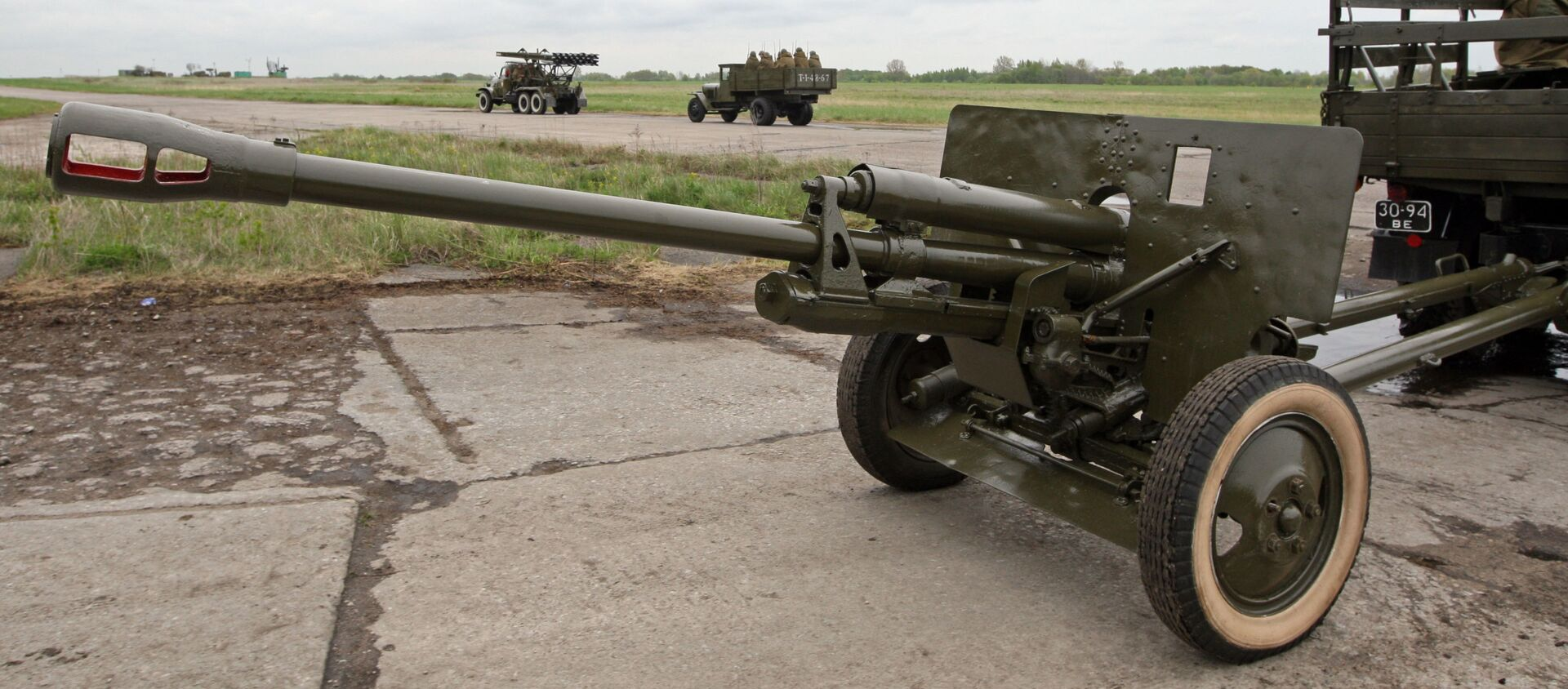 76 mm armata dywizyjna wz.1942 (ZiS-3) - Sputnik Polska, 1920, 18.02.2021