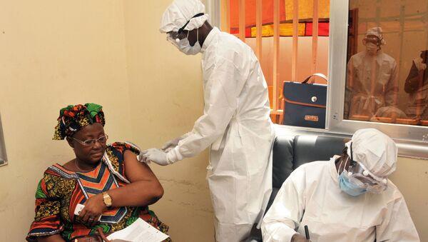 Szczepienie przeciwko wirusowi Ebola w Gwinei. - Sputnik Polska