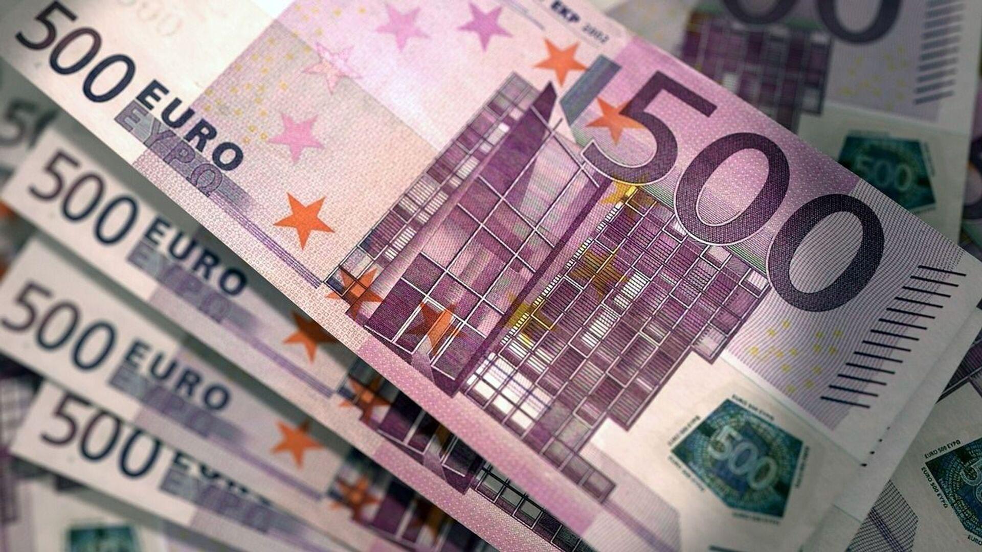 Banknoty euro - Sputnik Polska, 1920, 02.09.2021