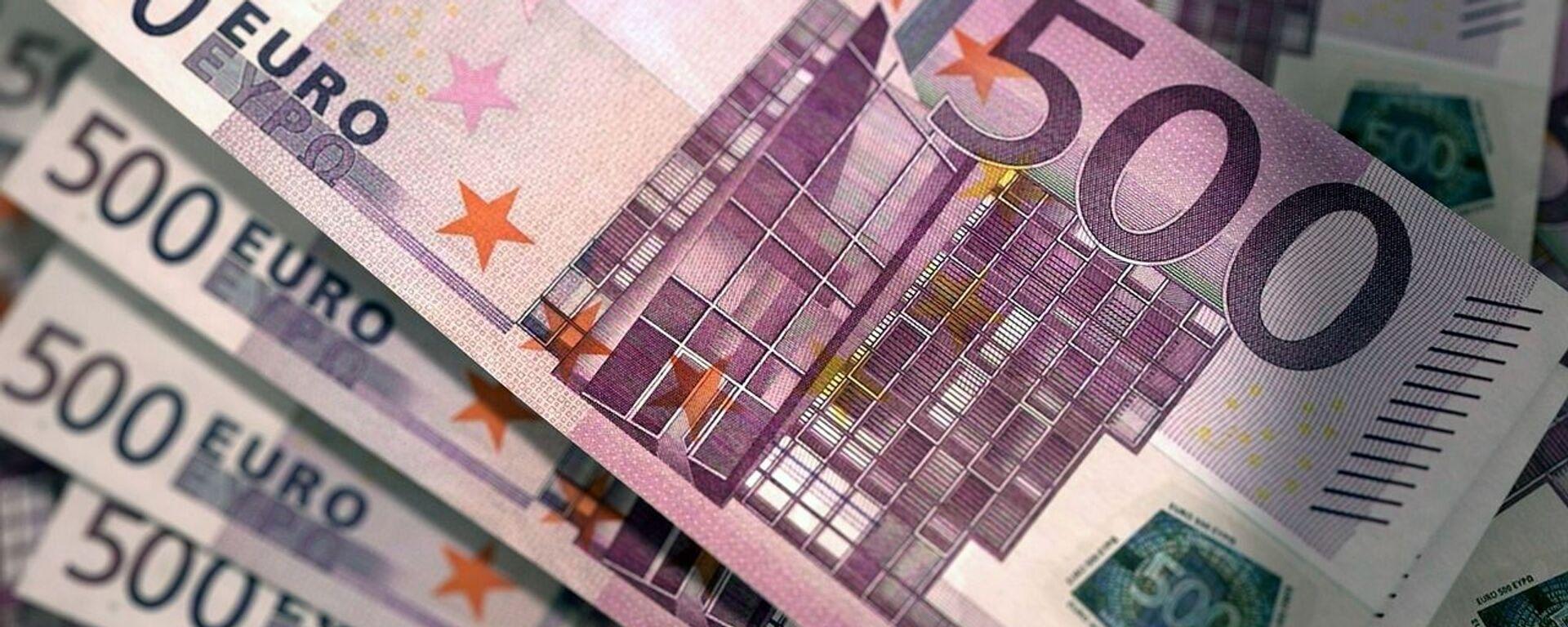 Banknoty euro - Sputnik Polska, 1920, 23.02.2021