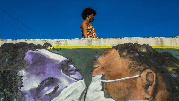 Graffiti w Brazylii - Sputnik Polska