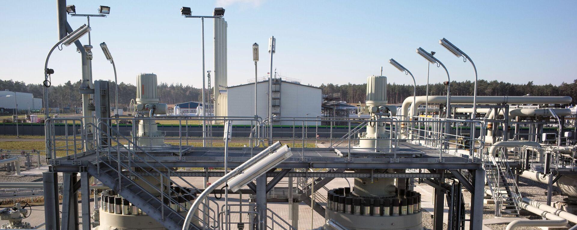 Obiekty lądowe gazociągu Nord Stream 2 w Lubminie w Niemczech - Sputnik Polska, 1920, 06.03.2021