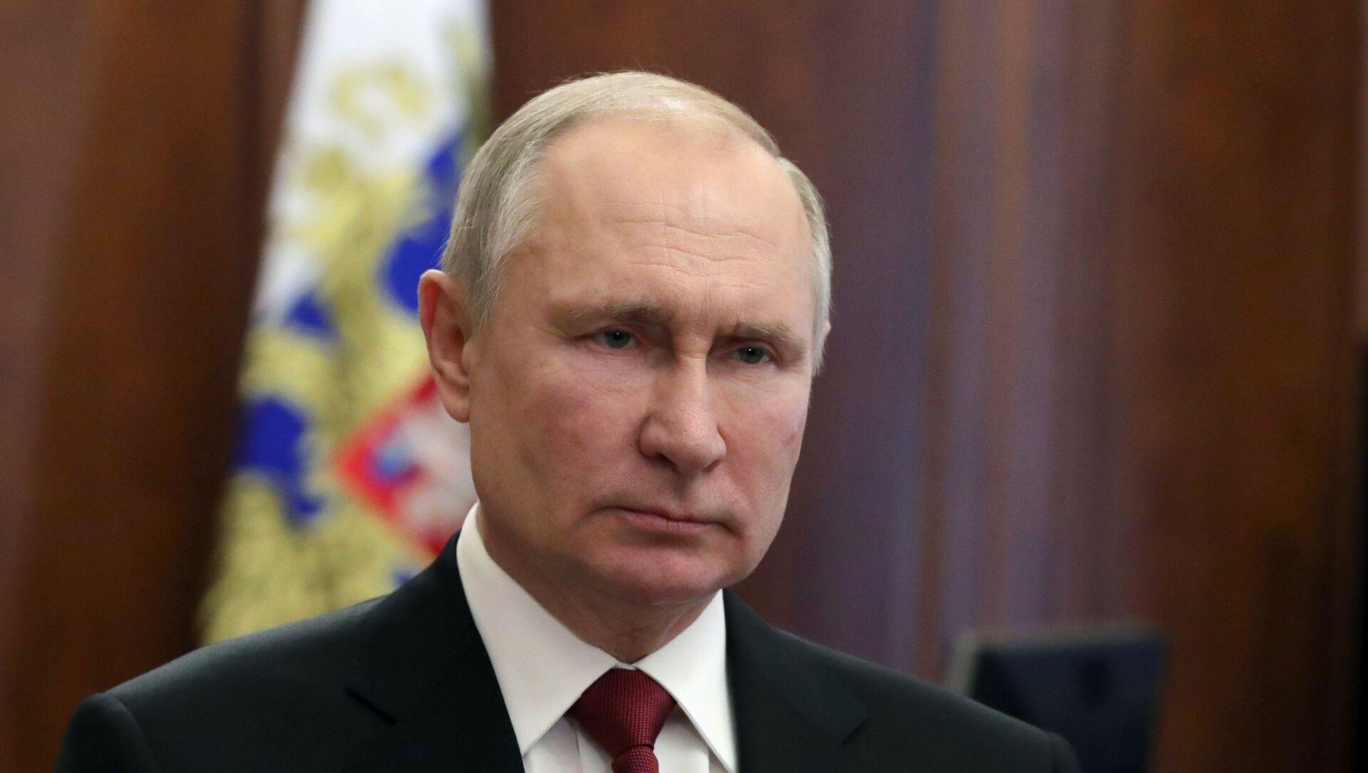 Prezydent Rosji Władimir Putin. - Sputnik Polska, 1920, 11.03.2021