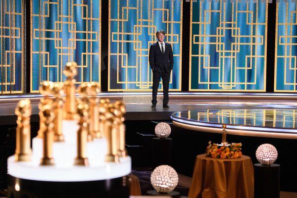 Актер Шон Пенн на церемонии награждения премии Золотой глобус в США. - Sputnik Polska