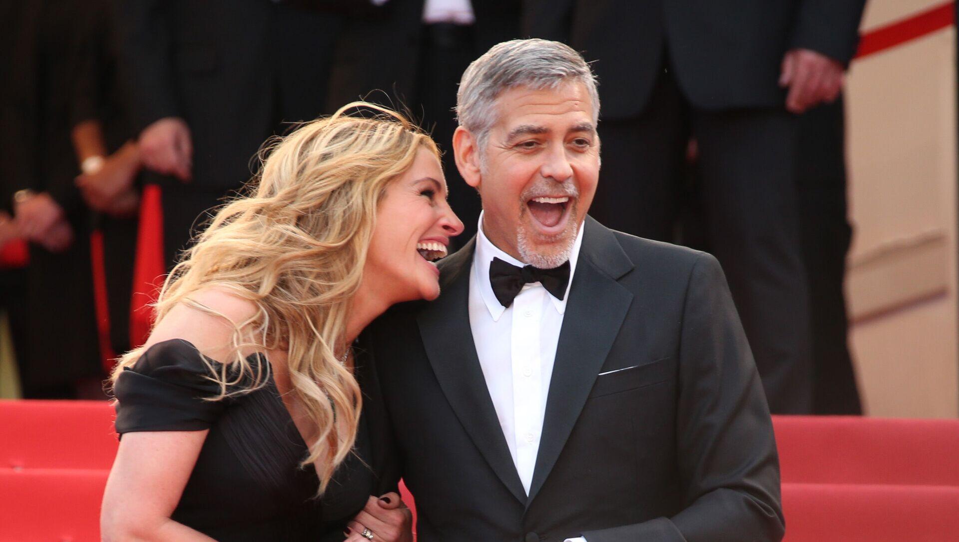 Hollywoodzcy aktorzy George Clooney i Julia Roberts - Sputnik Polska, 1920, 02.03.2021