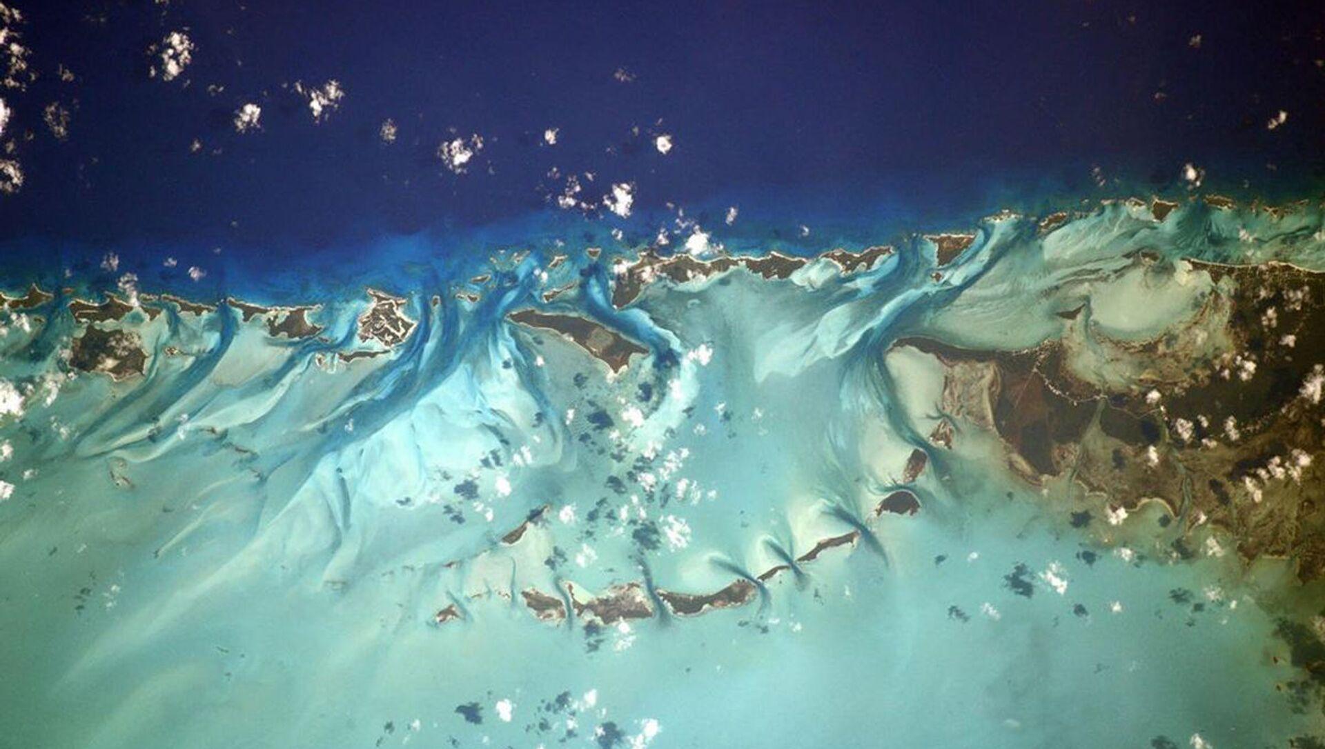 Bahamy zdjęte z pokładu Międzynarodowej Stacji Kosmicznej - Sputnik Polska, 1920, 02.03.2021
