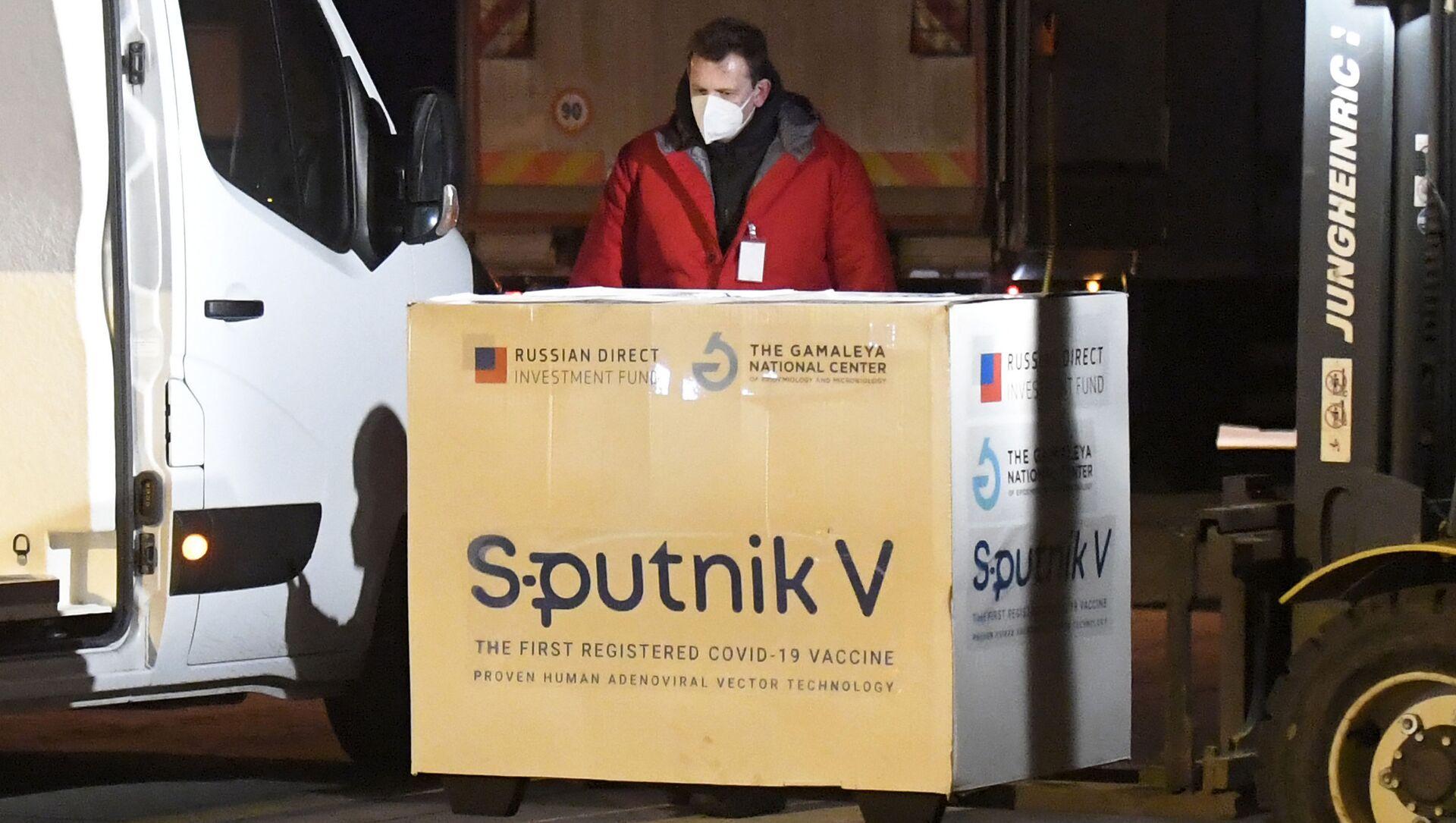 Szczepionka Sputnik V dostarczona na Słowację - Sputnik Polska, 1920, 04.03.2021
