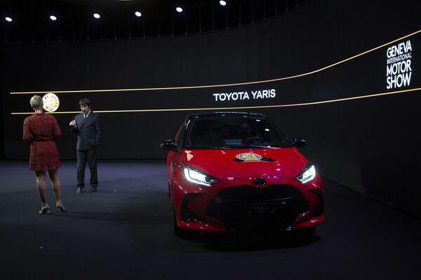 Samochód Toyota Yaris - Sputnik Polska
