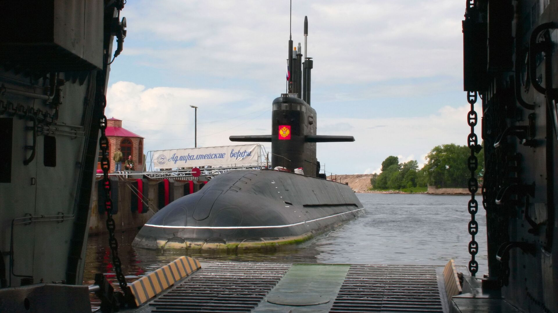 Okręt podwodny Sankt Petersburg - Sputnik Polska, 1920, 01.10.2021