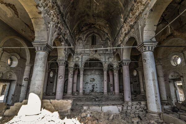 Zniszczona szkoła katolicka w Mosulu - Sputnik Polska