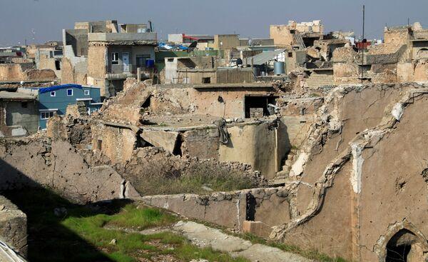 Widok na stare miasto w Mosulu - Sputnik Polska