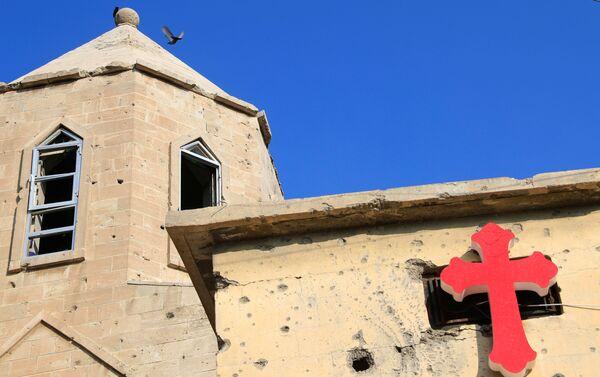 Kościół w Mosulu - Sputnik Polska