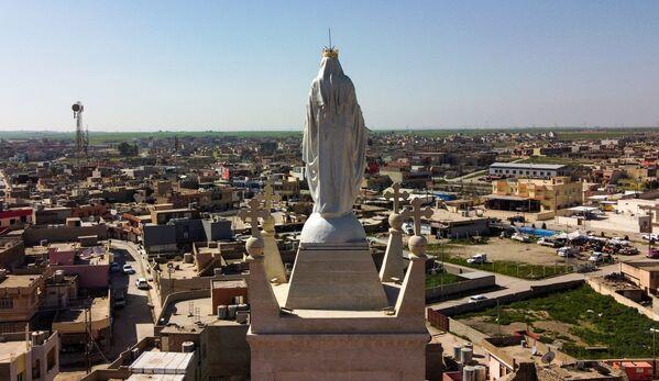 Kościół katolicki obrządku syryjskiego w prowincji Niniwa - Sputnik Polska