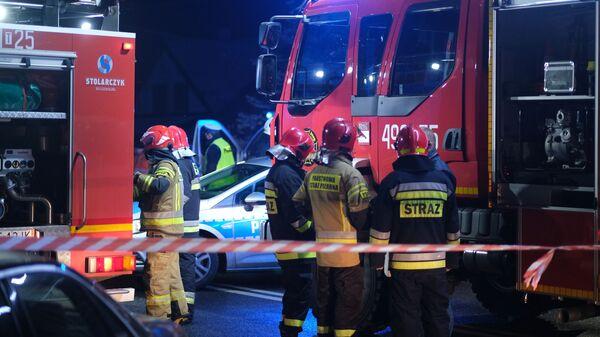 Tragiczny wypadek ukraińskiego autokaru na Podkarpaciu - Sputnik Polska