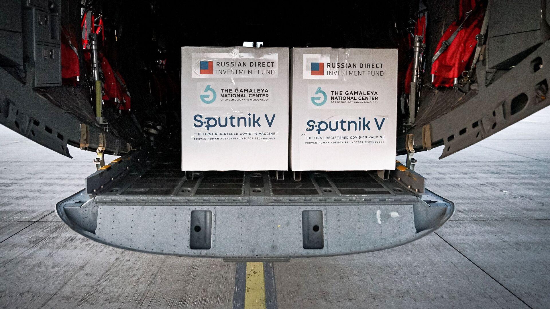 Pierwsza partia rosyjskiej szczepionki Sputnik V przyjechała na Słowację - Sputnik Polska, 1920, 31.03.2021