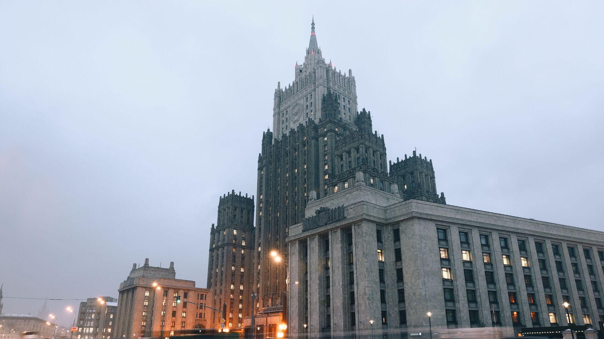 Gmach MSZ Rosji w Moskwie - Sputnik Polska, 1920, 24.03.2021