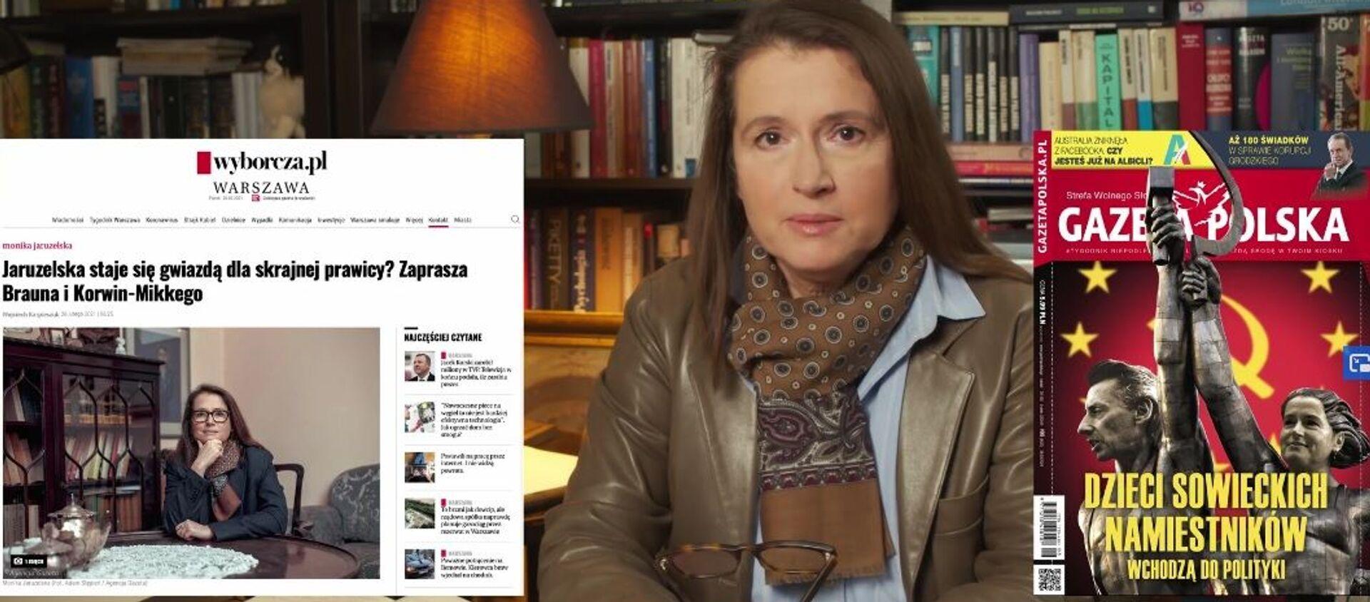 Monika Jaruzelska, radna miasta stołecznego Warszawy - Sputnik Polska, 1920, 12.03.2021
