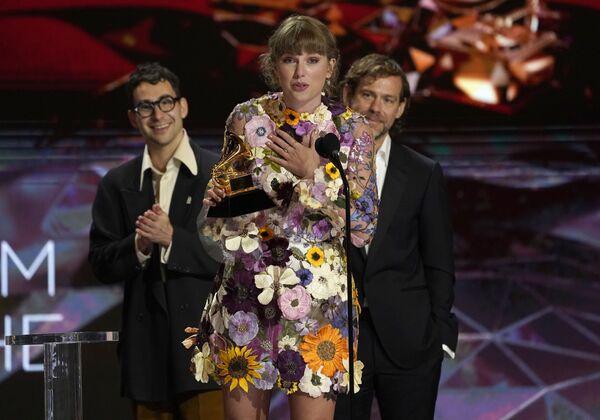 Piosenkarka Taylor Swift na 63. ceremonii rozdania nagród Grammy w Los Angeles - Sputnik Polska