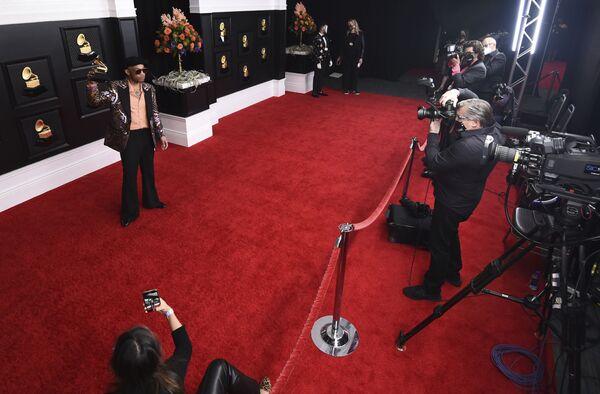 Producent muzyczny Anderson Paak na 63. ceremonii rozdania nagród Grammy w Los Angeles - Sputnik Polska