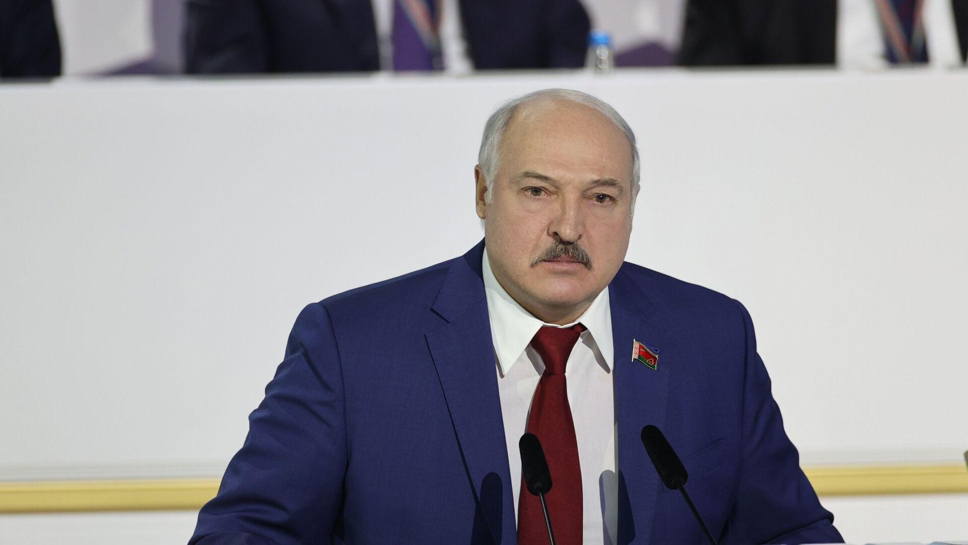 Prezydent Białorusi Aleksander Łukaszenka. - Sputnik Polska, 1920, 29.03.2021