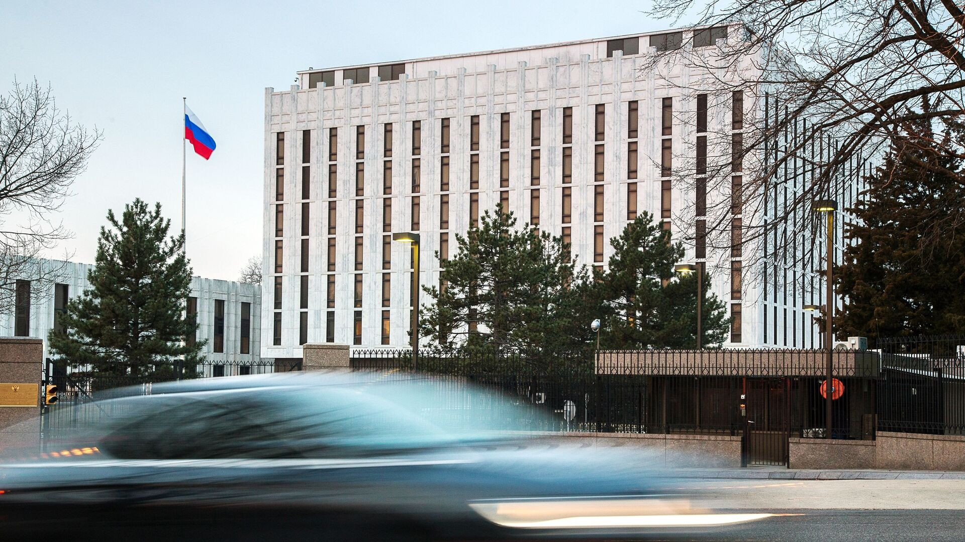 Ambasada Federacji Rosyjskiej w Waszyngtonie - Sputnik Polska, 1920, 17.03.2021