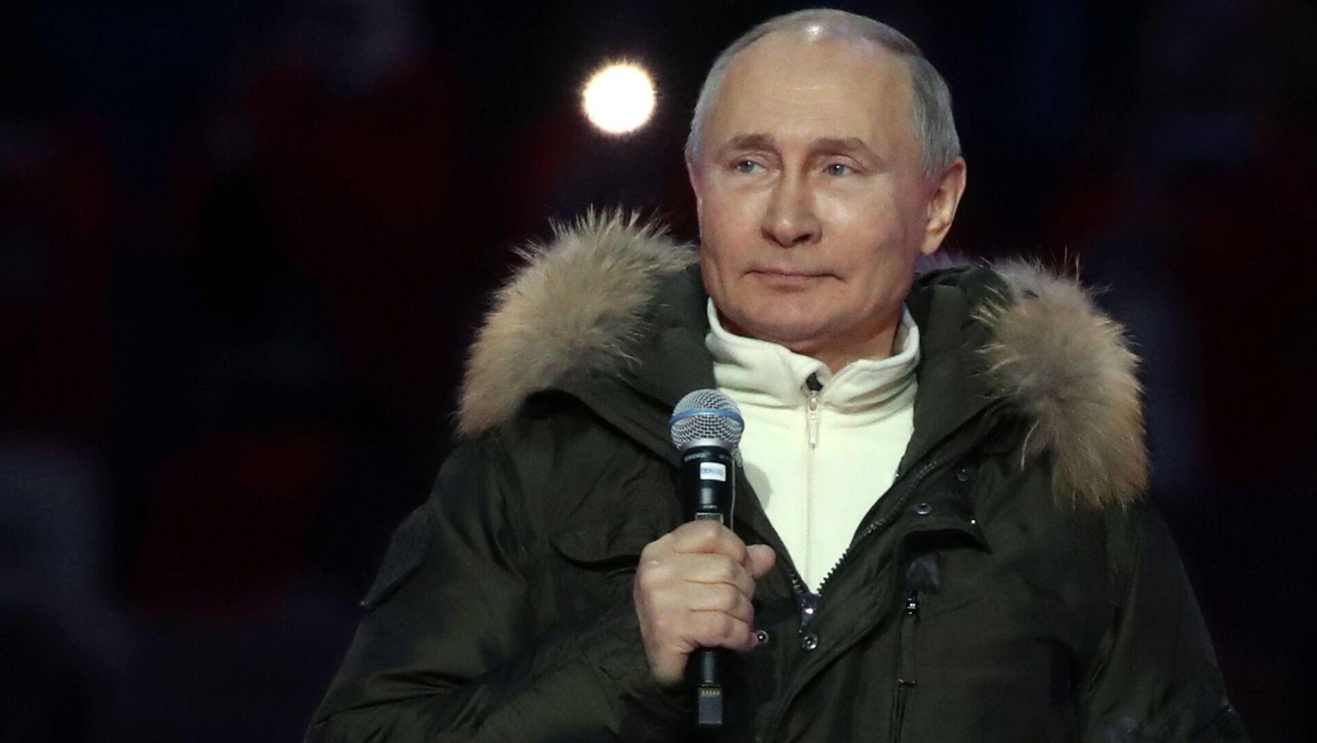 Władimir Putin - Sputnik Polska, 1920, 22.03.2021