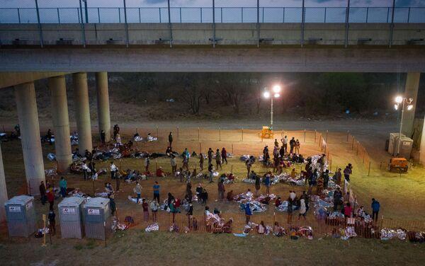 Sytuacja na granicy Meksyku i USA - Sputnik Polska