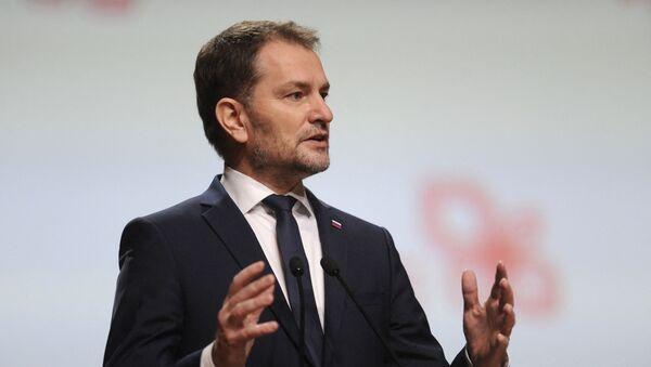 Premier Słowacji Igor Matovič - Sputnik Polska