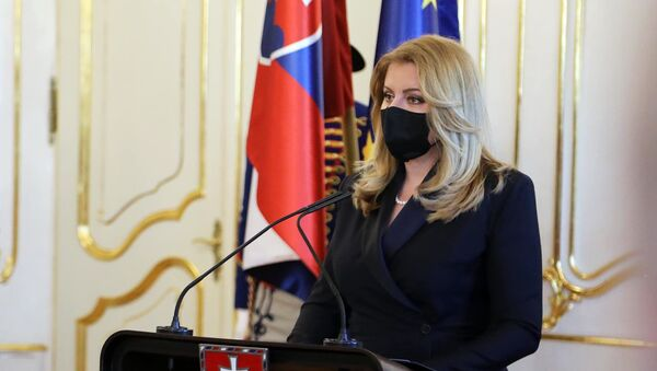 Prezydent Słowacji Zuzana Čaputová - Sputnik Polska