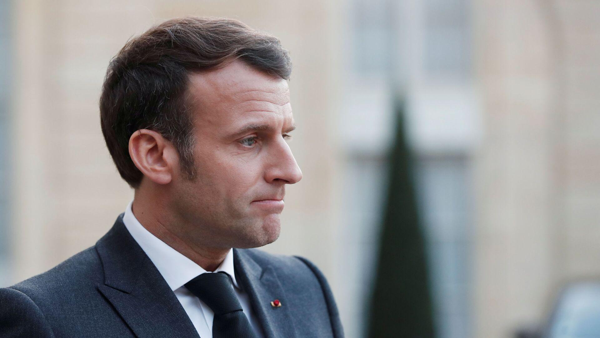 Prezydent Francji Emmanuel Macron - Sputnik Polska, 1920, 19.09.2021