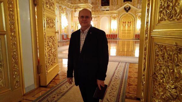 Komentator MIA Rossiya Siegodnya Leonid Swiridow - Sputnik Polska