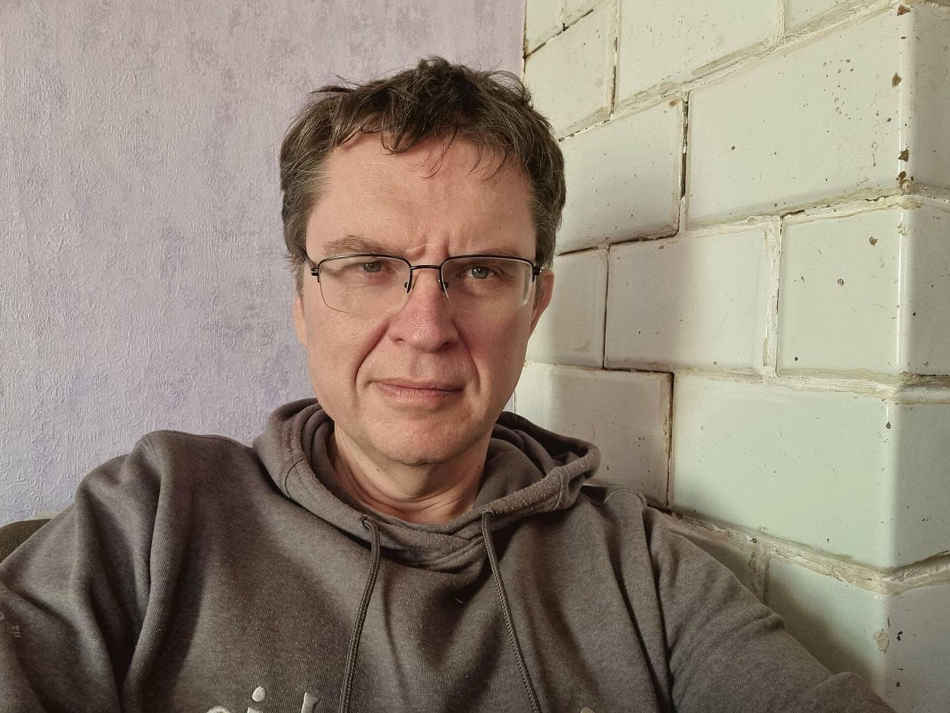 Polski dziennikarz na Białorusi Andrzej Poczobut zatrzymany - Sputnik Polska, 1920, 25.03.2021