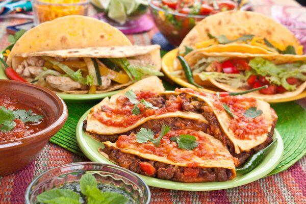 Tradycyjne meksykańskie jedzenie - Sputnik Polska