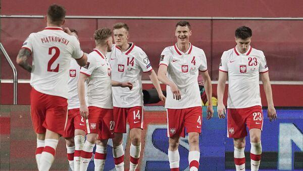 Reprezentacja Polski podczas meczu kwalifikacyjnego MŚ z Andorą - Sputnik Polska