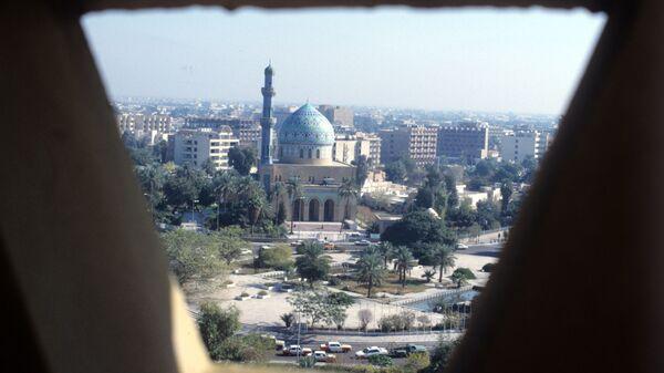 Widok na Bagdad, Irak - Sputnik Polska