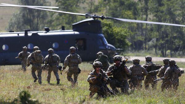 Wojskowi Stanów Zjednoczonych na ćwiczeniach NATO w Niemczech - Sputnik Polska