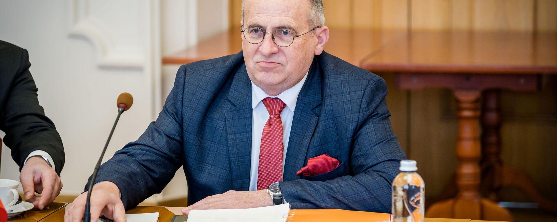 Zbigniew Rau w Kijowie, 8 kwietnia 2021 r. - Sputnik Polska, 1920, 14.05.2021