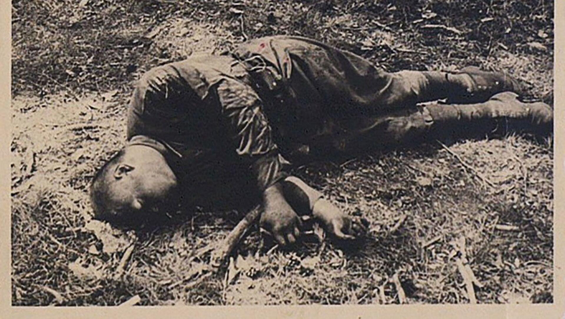 Zdjęcie archiwalne z czasów II wojny światowej. - Sputnik Polska, 1920, 10.04.2021