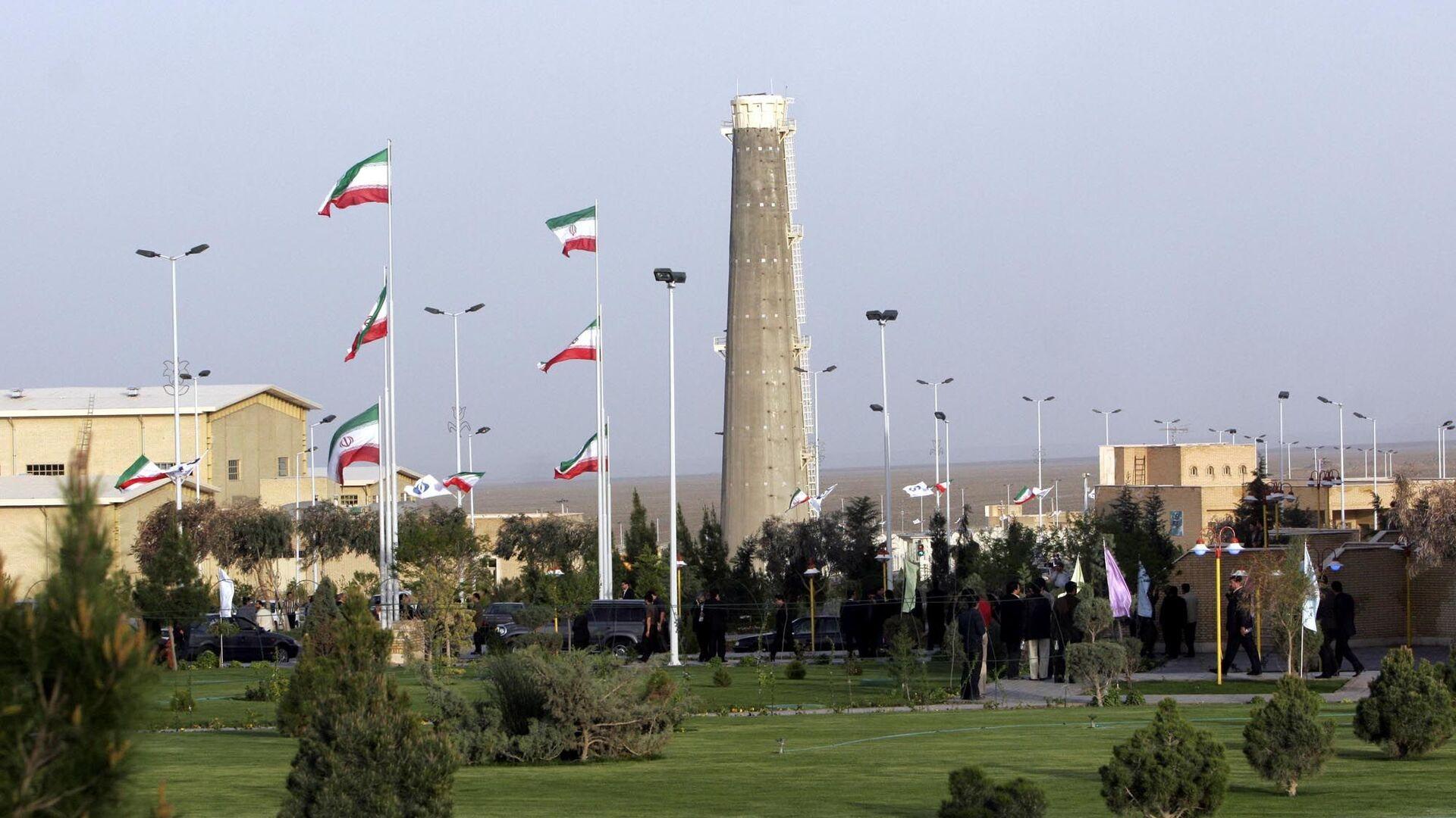 Widok na obiekty jądrowe w Natanz w Iranie - Sputnik Polska, 1920, 03.10.2021