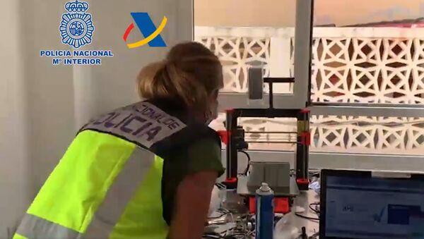 Hiszpańska policja odkryła na Teneryfie (Wyspy Kanaryjskie) warsztat, w którym broń była drukowana na drukarkach 3D - Sputnik Polska
