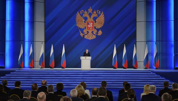 Coroczne przesłanie Prezydenta Federacji Rosyjskiej do Zgromadzenia Federalnego - Sputnik Polska