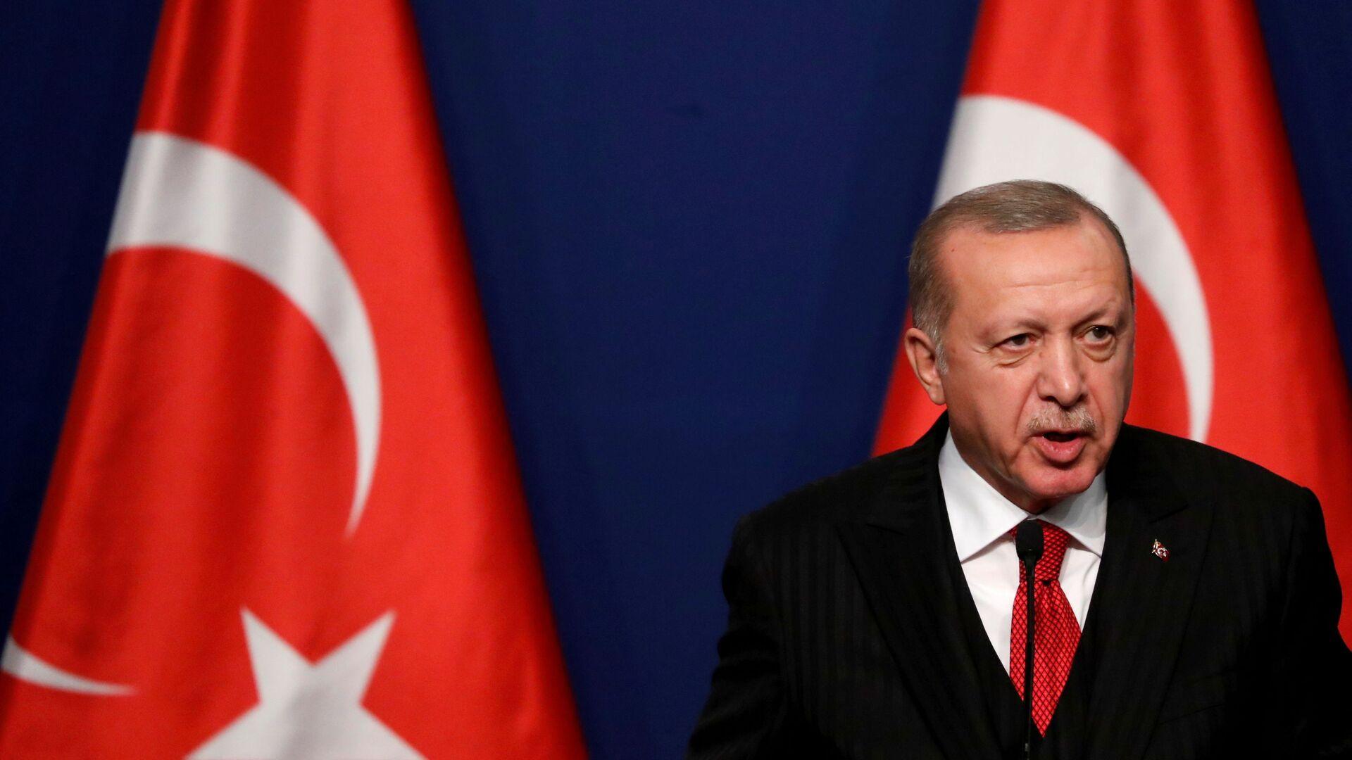 Recep Tayyip Erdogan - Sputnik Polska, 1920, 28.07.2021