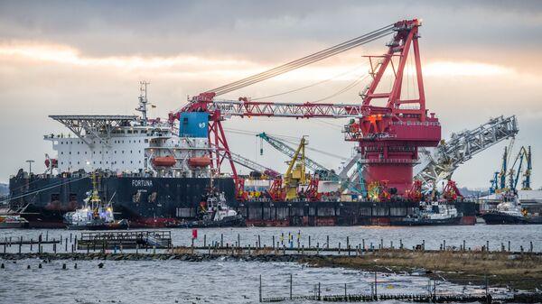 Statek Fortuna - Sputnik Polska